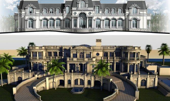 Mansions More New Build Inspired Versailles Mansion
