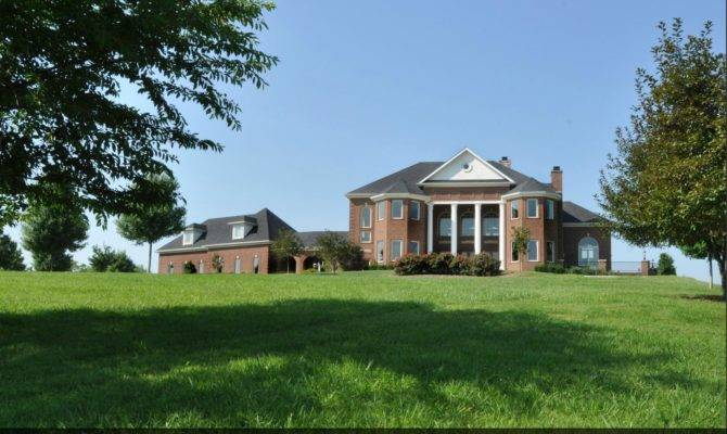 Mansions More Square Foot Brick Mansion Kentucky