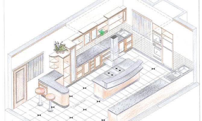 Manual Interior Designs Architectural Illustrations