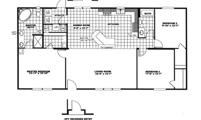 Manufactured Home Floor Plan Clayton Great Room