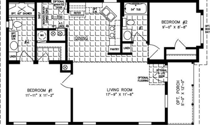 Manufactured Home Floor Plans Jacobsen