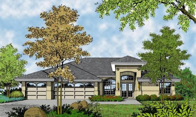 Marco Mesa Southwestern Home Plan House Plans More