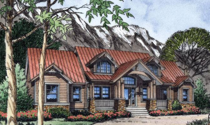 Margate Rustic Mountain Home Plan House Plans