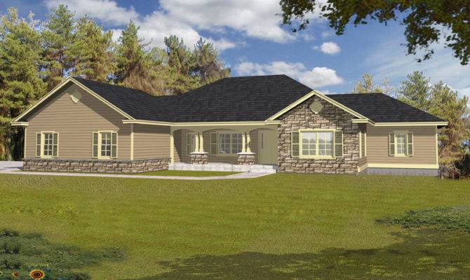 Maria Rustic Ranch Home Plan House Plans More