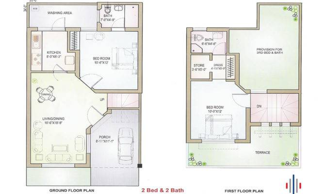Marla Delux Housing Plan Pakistani Builders Blogkaku