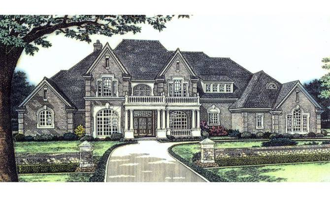 Marston Manor Luxury Home Plan House Plans More