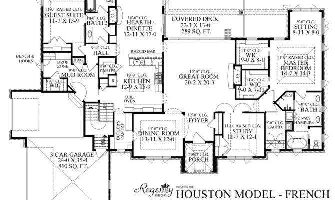 Marvelous Custom Ranch House Plans Home Floor