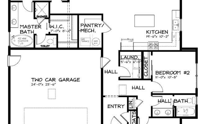 Marvelous House Plans Story Craftsman Single