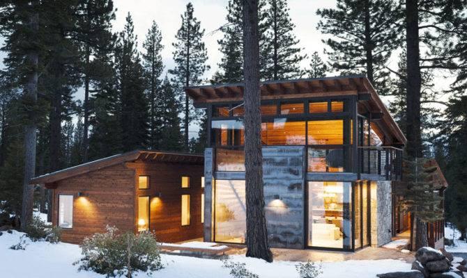 Marvelous Modern Mountain Home Truckee California Prefab