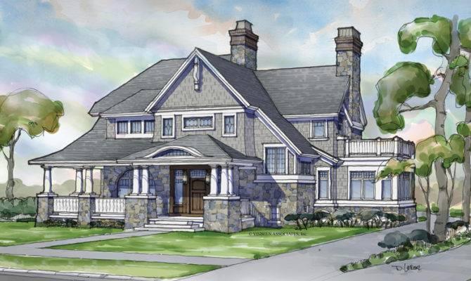 Marvelous Nantucket Style Home Plans Shingle