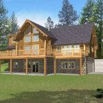 Marvin Peak Log Home Plan House Plans More