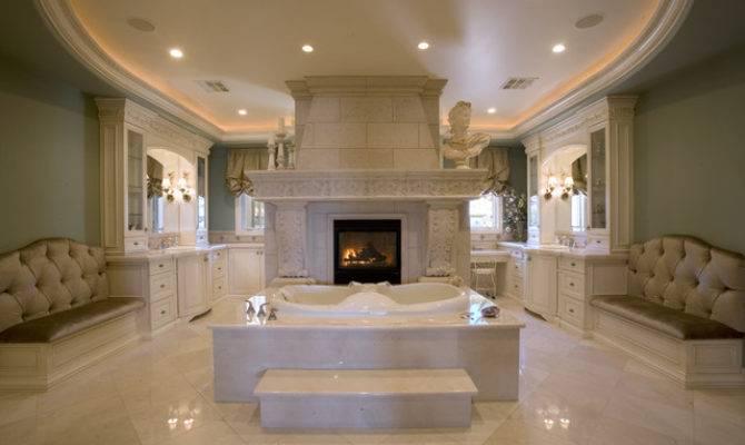 Master Bath Suite His Her Vanities Closets