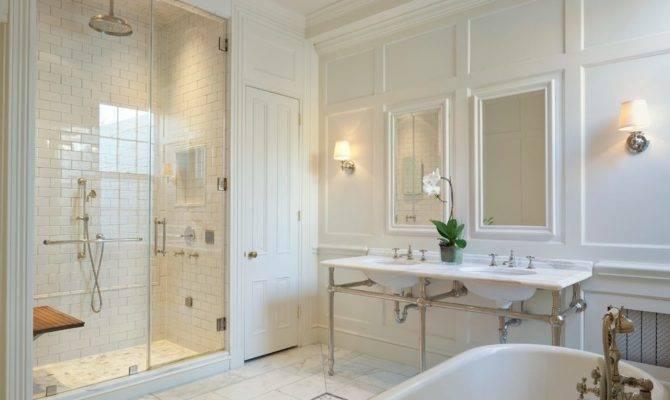 Master Bathroom Layout Ideas Traditional