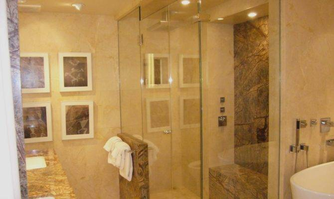 Master Bathroom Shower Women Construction