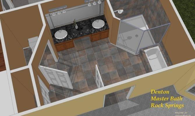 Master Bedroom Bath Floor Plans Bathroom
