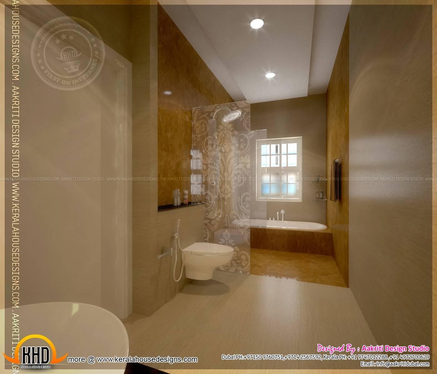 Master Bedroom Bathroom Interior Design Kerala Home House Plans 116840