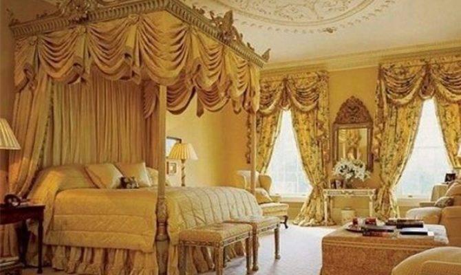 Master Bedroom Designed Victorian Style