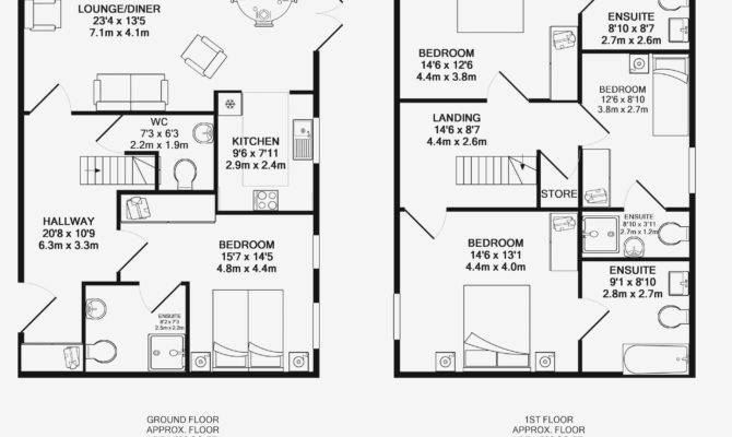 Master Bedroom Ensuite Floor Plans Regarding House