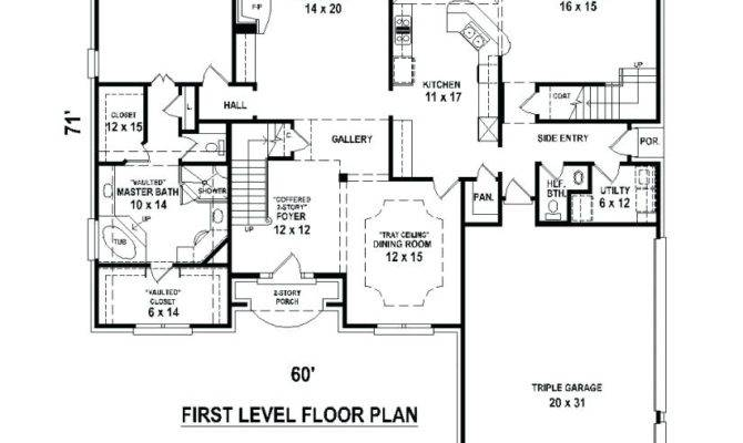 Master Bedroom First Floor House Plans Gurus