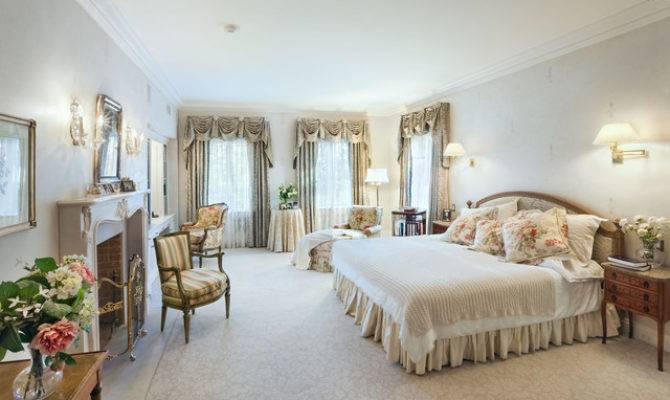 Master Bedroom Mansion Old Greenwich New York