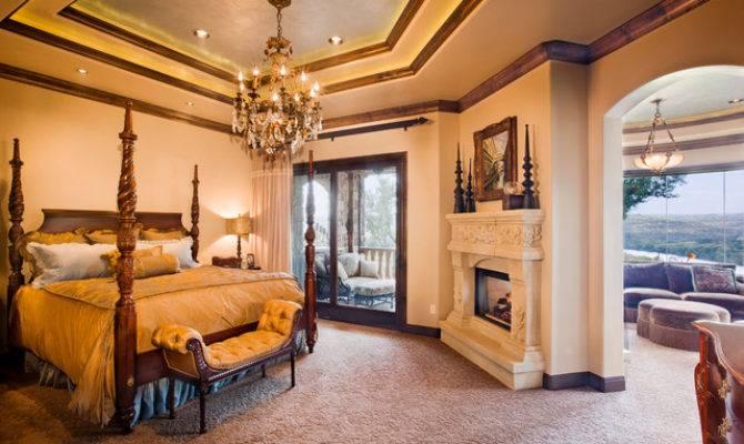 Master Bedroom Sitting Room Mediterranean