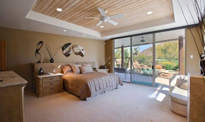 Master Bedroom Tray Ceiling Fan