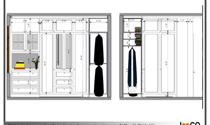 Master Bedroom Walk Closet Designs Elegance Dream
