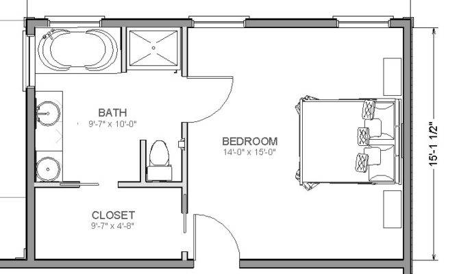Master Suite Addition Add Bedroom House Plans