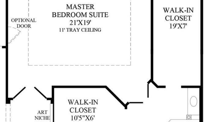 Master Suite Floor Plans Bedroom