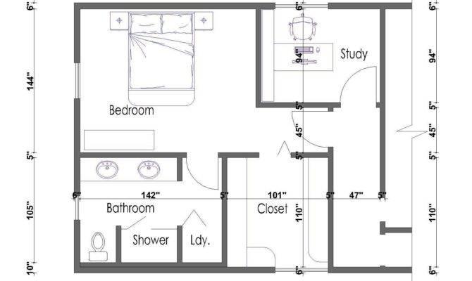 Master Suite Floor Plans Plan