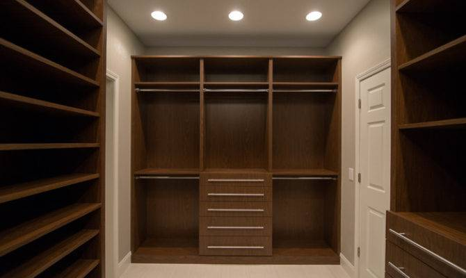 Master Suite His Hers Walk Closet Modern