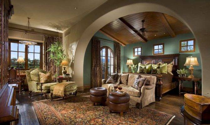 Master Suite Spanish Colonial Home Decor Pinterest
