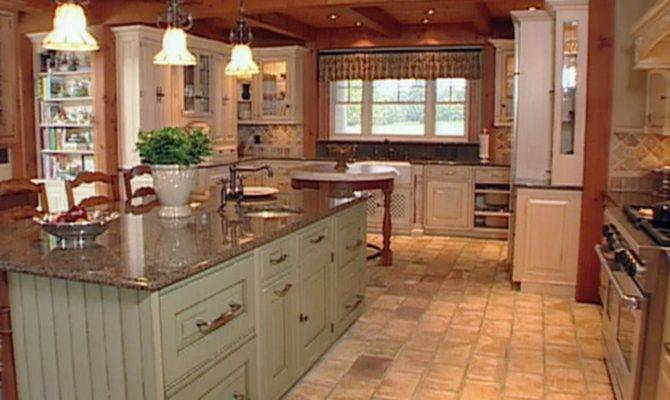 Materials Create Farmhouse Kitchen Design Ideas