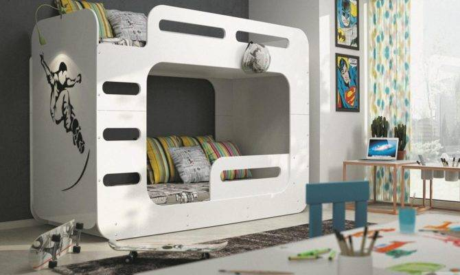 Max Two Floor Children Bed Bunk Beds Poland Bms Group Mebeles