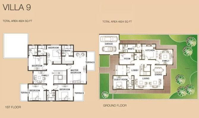 Meadows Villa Floor Plans Emirates Living Property