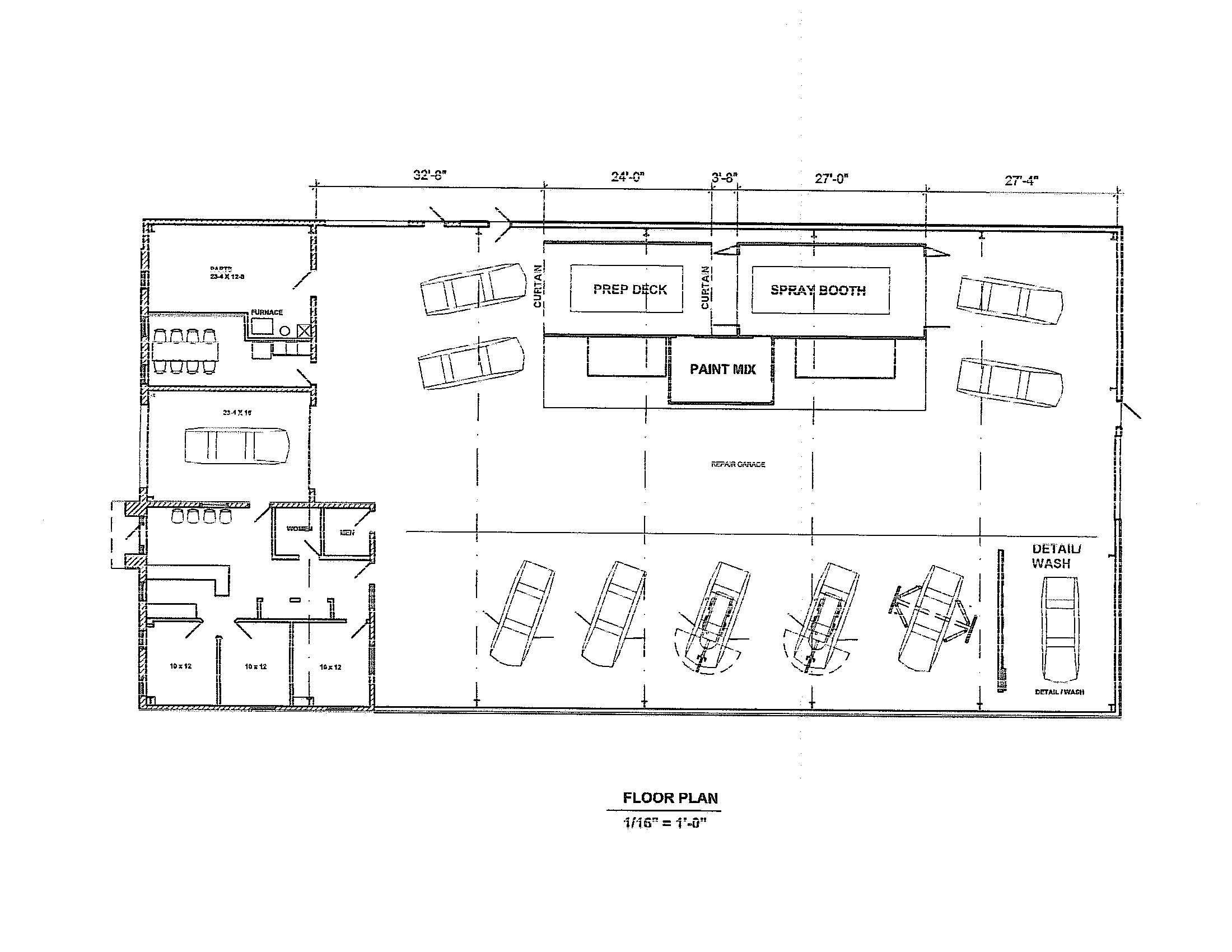 Mechanic Shop Floor Plans Home Deco House Plans 178502