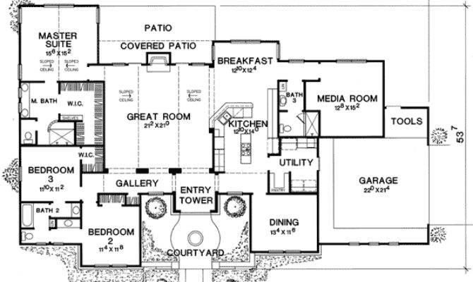 Media Room Guest Options Floor