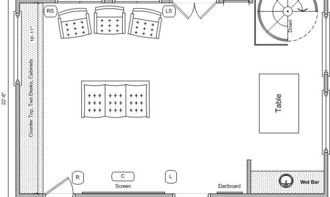 Media Room Remodel Need Floor Plan Feedback Avs Forum