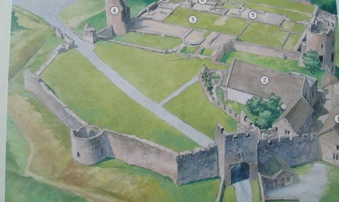 Medieval Castle Home Plans Plan Farleigh Hungerford