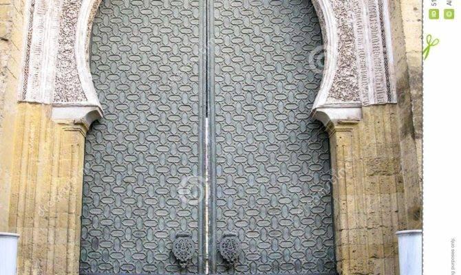 Medieval Mosque Gate Cordoba Spain