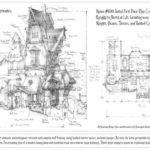 Medieval Tower House Floor Plan Fantasy Castle Plans Friv