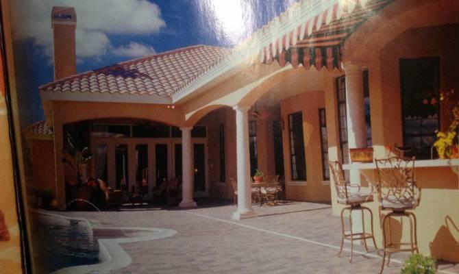Mediterranean Architectural Interest Home Plans Design Elements