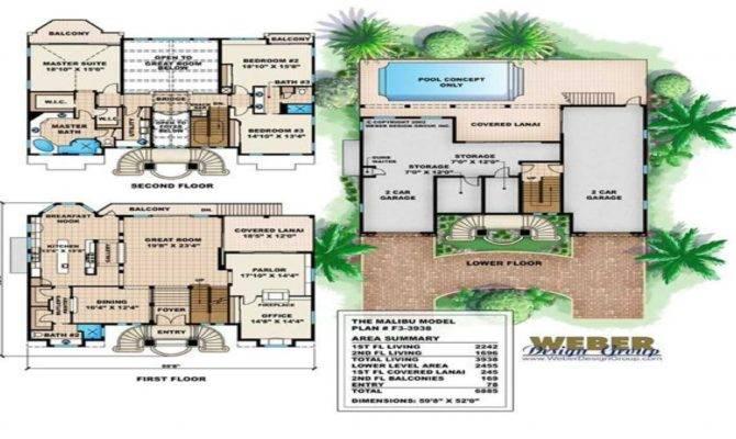 Mediterranean House Floor Plans Small Luxury