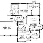 Mediterranean House Plan Amherst Floor