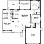 Mediterranean House Plan Anton Floor