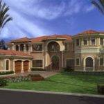 Mediterranean House Plan Bedrooms Bath