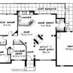 Mediterranean House Plan Carrizo Floor
