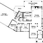 Mediterranean House Plan Chatsworth Floor
