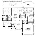 Mediterranean House Plan Cypress Floor
