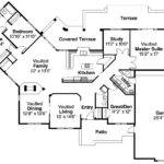 Mediterranean House Plan Grenada Floor